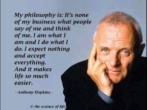 Motivational Saying by Anthony Hopkins