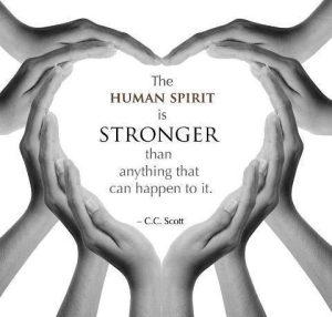 Motivational Wallpaper on Human Spirit
