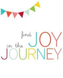Wallpaper Find joy in the journey