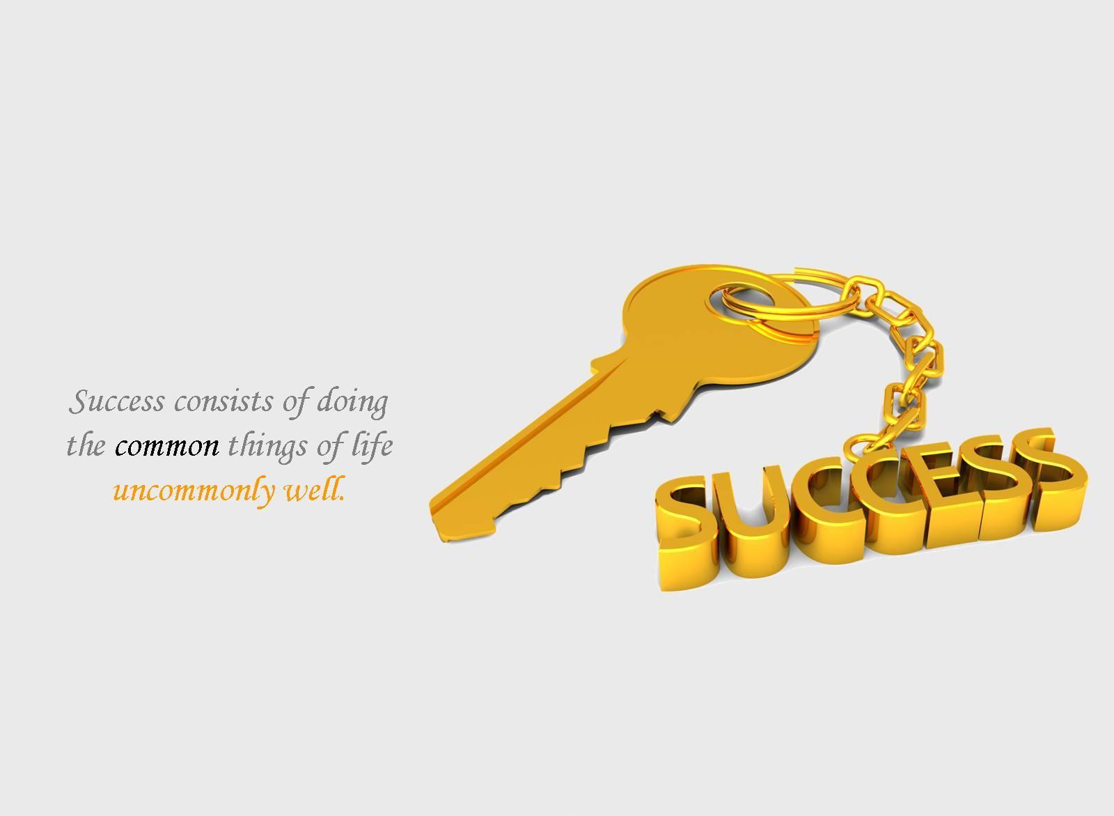 Motivational Wallpaper On Success : Success Consists Of Doing