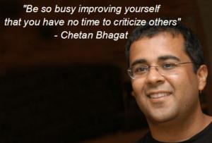 Quote by Chetan Bhagat