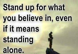 Quote on Believe