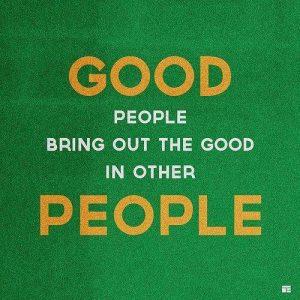 Wallpaper on Good People