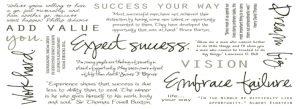Success Inspirational Timeline Cover