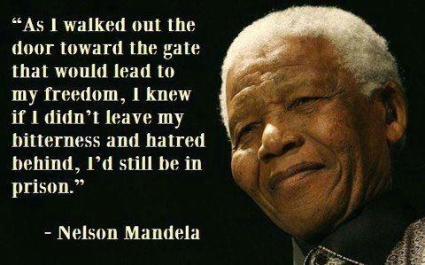Inspirational wallpaper on Nelson Mandela