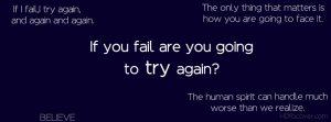 Failure Motivational Timeline Covers
