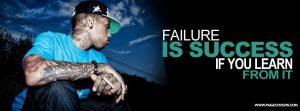 Failure Motivational timeline cover