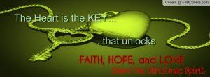 Inspirational Timeline Cover on Hope