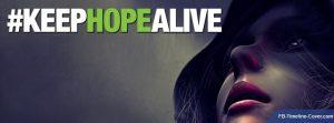 Motivational Timeline Covers On Hope