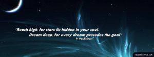 Motivational Timeline Cover on Dreams