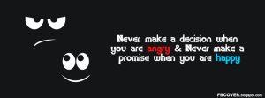 Motivational Timeline Cover on Anger