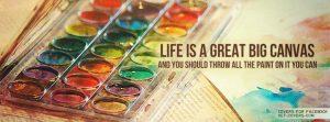 Motivational Timeline Cover on Life