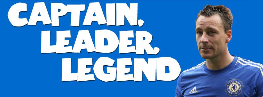 Motivational Timeline Cover on Leadership: Captain Leader Legend