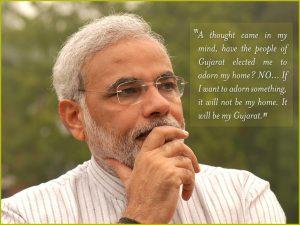 Motivational Quote on Modi