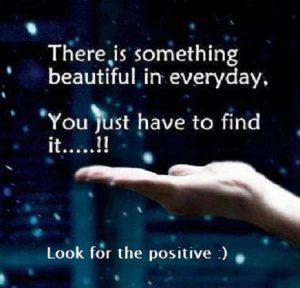 Motivational Wallpaper on Think positive