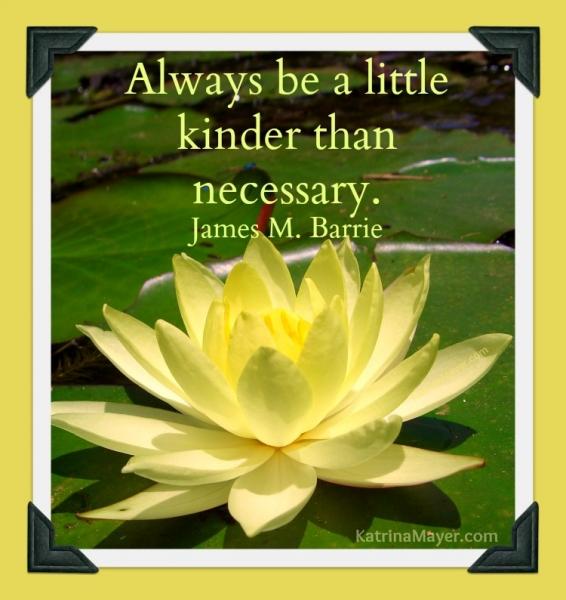 Motivational Wallpaper on Kindness: Always be a little kinder