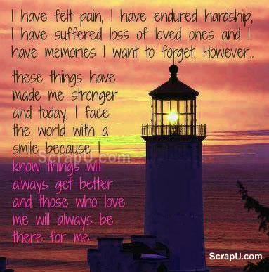 Motivational Wallpaper on Life: I have felt pain,I have endured hardship,