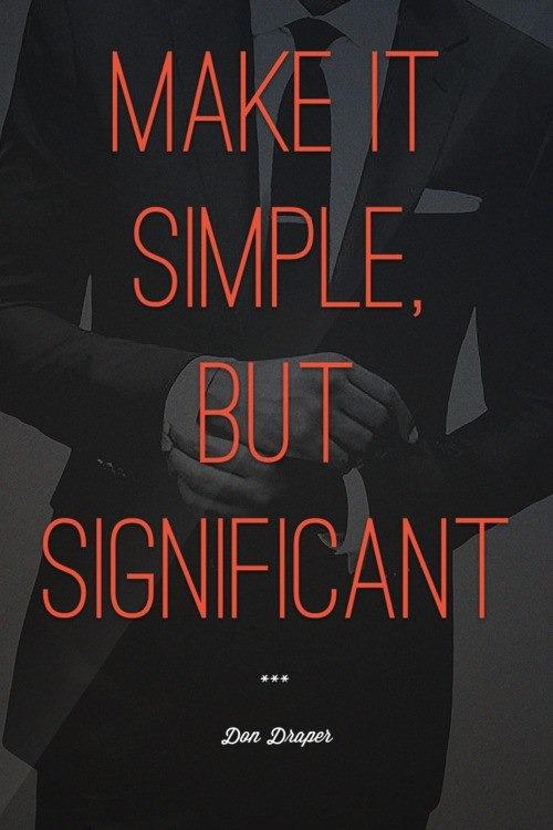 Dan Draper Wallpaper: Make it Simple But Significant