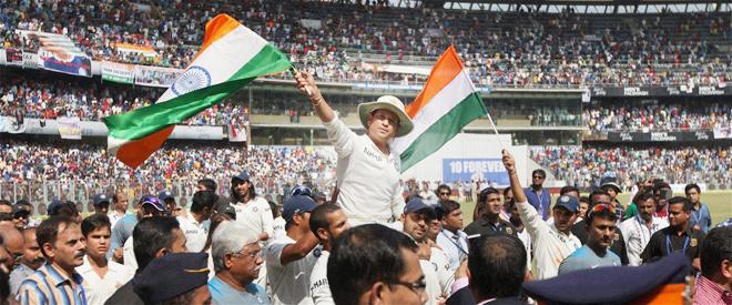 Sachin Tendulkar Farewell
