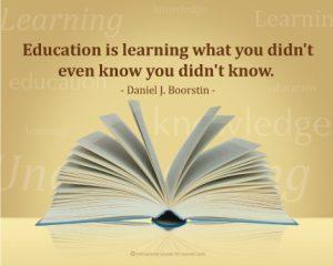 Motivational Wallpaper on Education