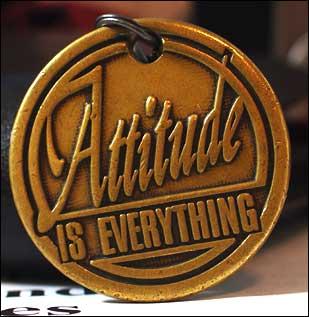 Ten amazing quotes on attitude