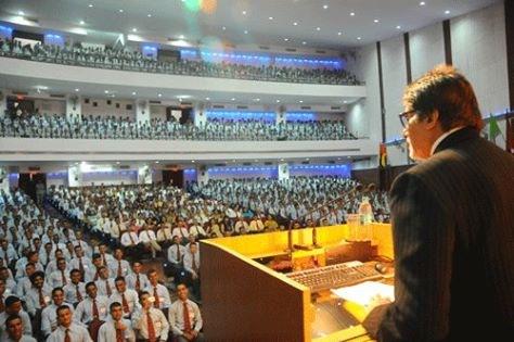 BIG B Amitabh Bachchan Speech At National Defence Academy
