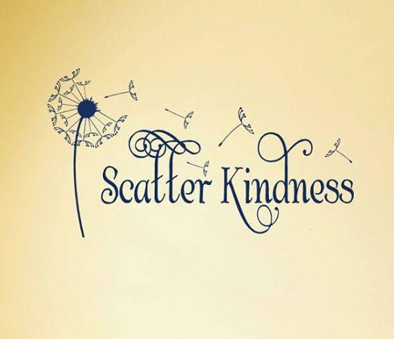 Wallpaper Scatter Kindness