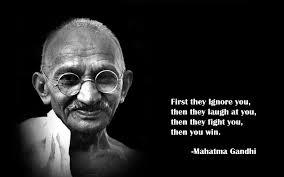 Quote by Mahatma Gandhi
