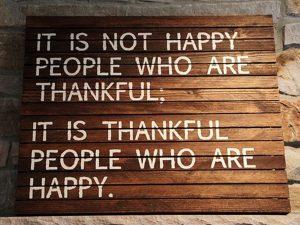 Motivational Wallpaper on Be Thankful