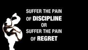 Quote on Discipline