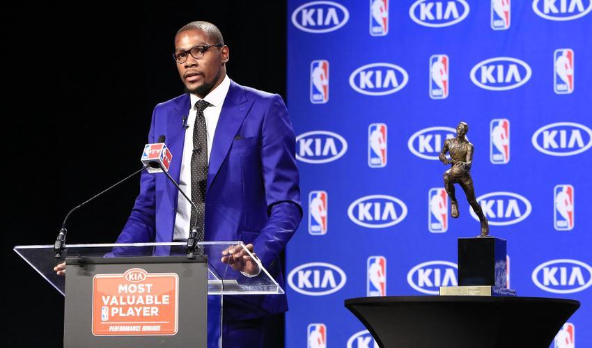 Kevin Durant MVP Speech NBA