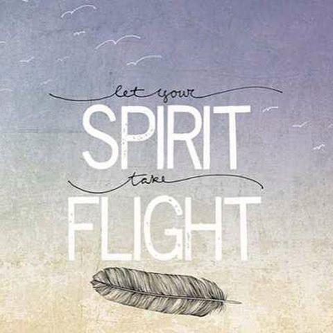 Motivational Wallpaper Let Your Spirit take Flight