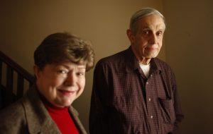 John Nash and wife