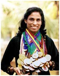 Pt usha medals