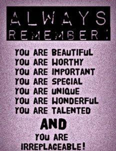 like your self