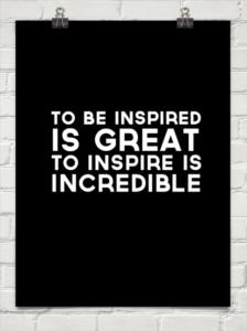 be inspire
