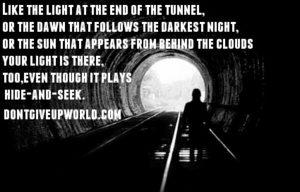 your light dontgiveupworld