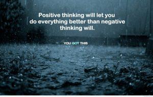 Motivational Wallpaper on Positive Thinking