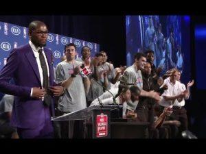 Kevin Durant: The Oklahoma City Thunder NBA star's complete MVP speech