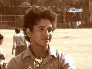 Sachin Tendulkar – First interview