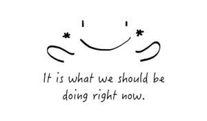 start doing it now- dontgiveupworld