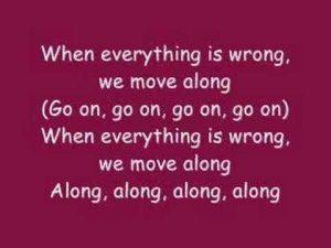 Move Along …