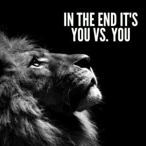 its you vs you@dontgiveupworld