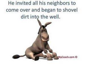 Motivational story Jack the positive donkey