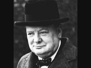 Winston Churchill's Inspirational Speech