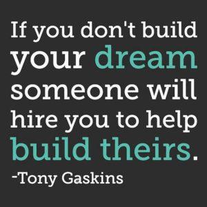 Motivational wallpaper -Build your Dream