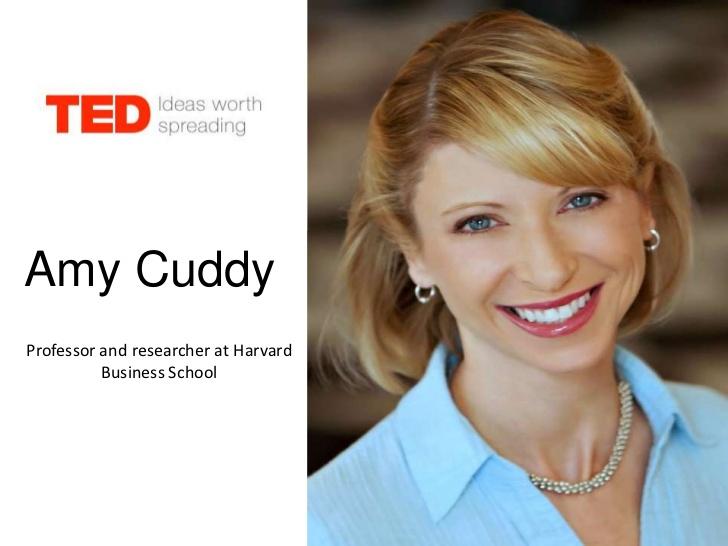 Ted talk by amy cuddy