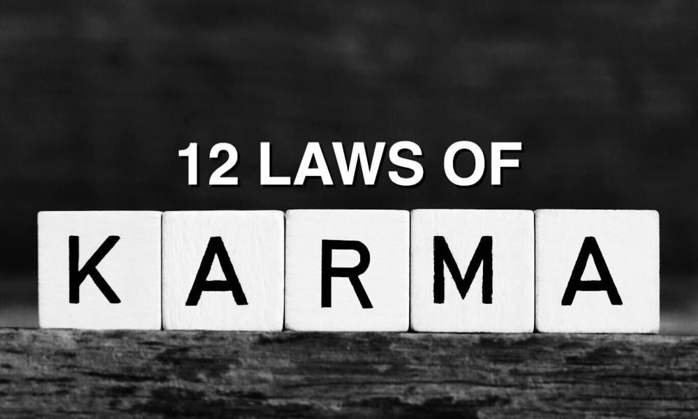 12karmic laws@dontgiveupworld