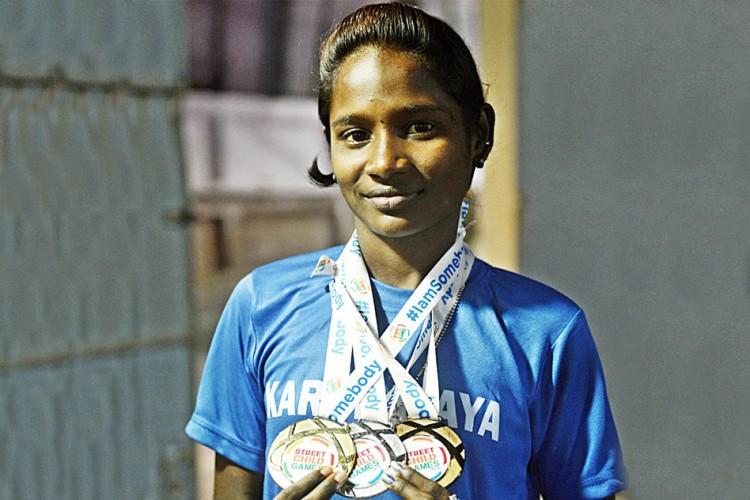 Chennai Girl Gold Medal