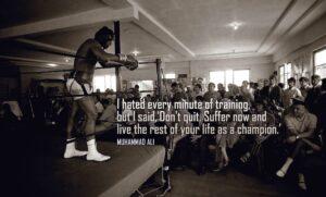 Motivational Wallpaper By Muhammad Ali